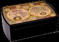 Хьюмидор Mastro de Paja Карта мира на 50 сигар