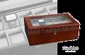 Шкатулка для хранения 10 часов и украшений/ 801GR-103/ Германия