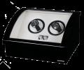 Шкатулка для хранения 2-х часов с автоподзаводом SELA 2 Black ALTITUDE (Германия)