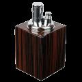 Зажигалка для сигар настольная Mastro de Paja Италия Эбеновое дерево