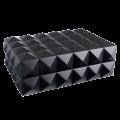 Хьюмидор Colibri премиум-класса черный лак на 40 сигар