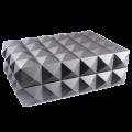 Хьюмидор Colibri премиум-класса серый лак на 40 сигар