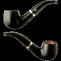 Курительная трубка RATTRAY`S BLACK SMOOTH GR73 фильтр 9 мм