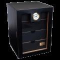 Хьюмидор-шкаф купить Lubinski черный лак на 130 сигар GR10
