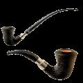 Курительная трубка Rattray`S с двумя мундштуками фильтр 9 мм