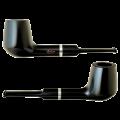 Курительная трубка Molina black brandy фильтр 9 мм купить