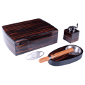 Подарочный набор для сигар купить Lubinski макассар на 30 сигар