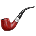 Курительная трубка Peterson Sterling Silver GR69